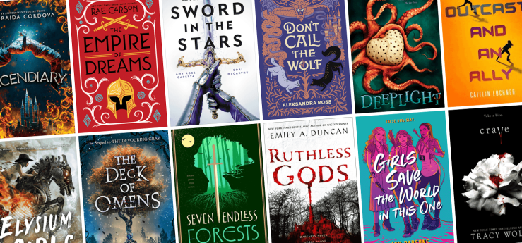 Blog Post Featured Image - All the New Young Adult SFF Books Arriving in April!
