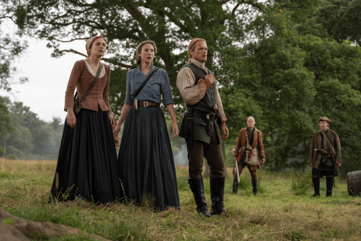 Blog Post Featured Image - Bad Birthdays and Tragic Hugs: Checking in With Outlander