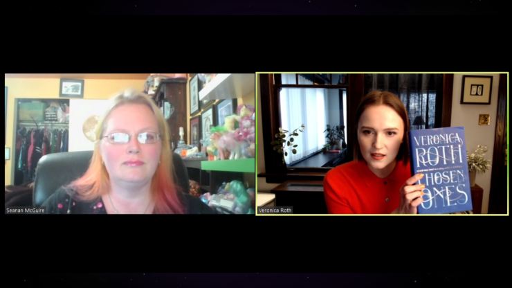 """Blog Post Featured Image - Learn How to """"Craft and Plan a Series"""" with Veronica Roth and Seanan McGuire"""