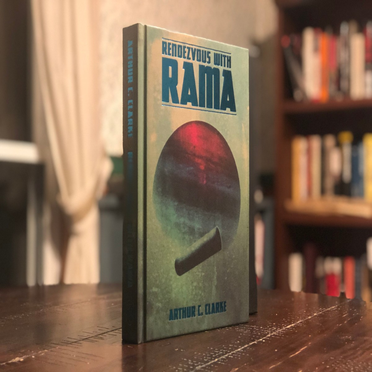 An Interview With Matt Griffin, Illustrator of The Folio Society's Rendezvous With Rama