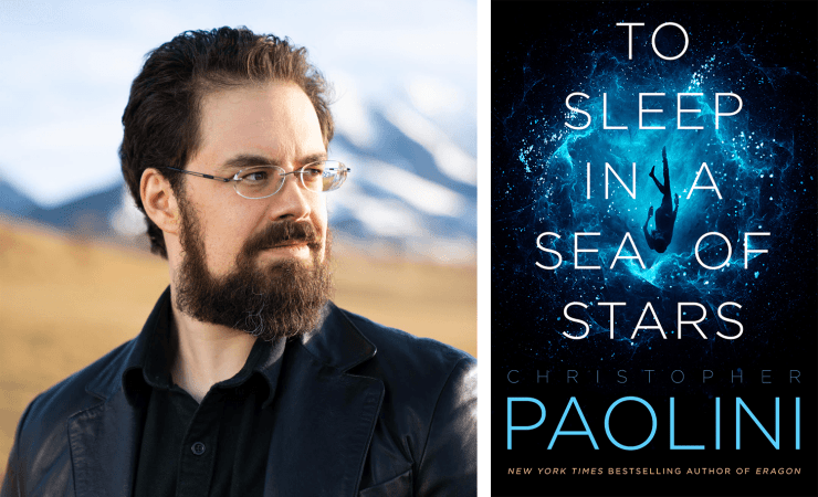 Blog Post Featured Image - Read an Excerpt From Christopher Paolini's To Sleep in a Sea of Stars