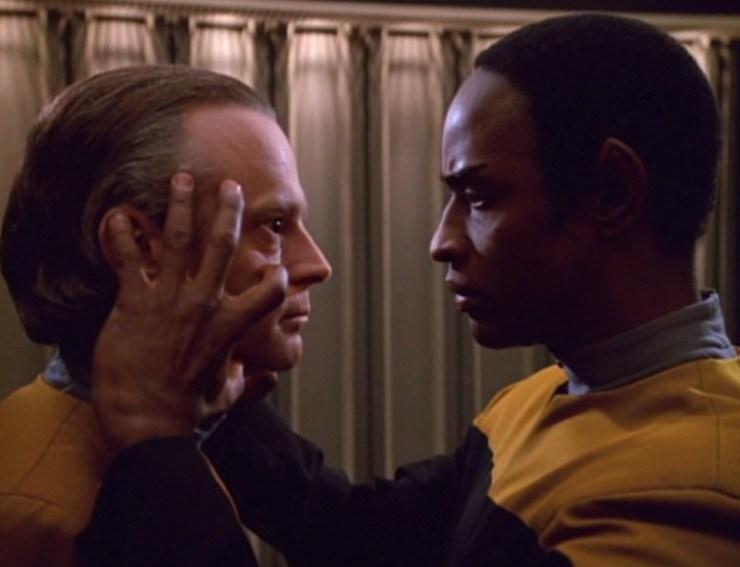 Vulcan mind meld in Star Trek: Voyager