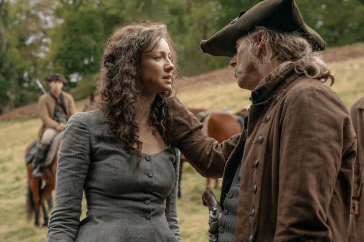 Outlander 512 season finale Never My Love Claire rape