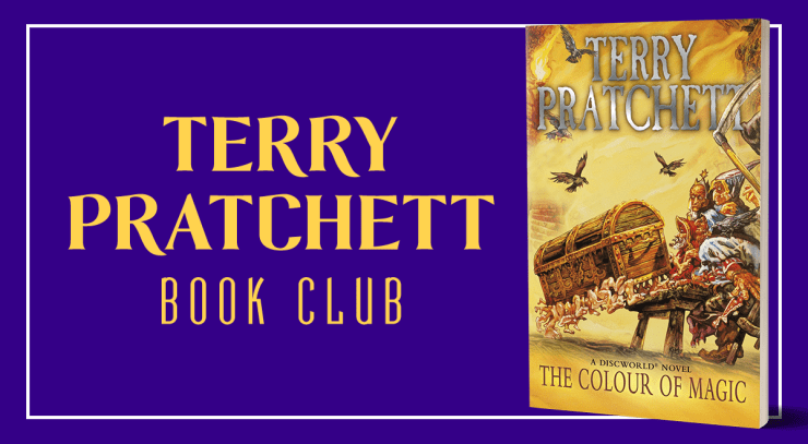 Blog Post Featured Image - Terry Pratchett Book Club: The Colour of Magic, Part III