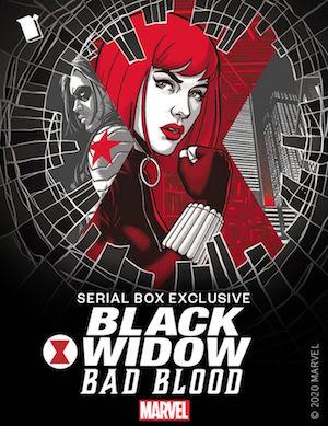 Black Widow: Bad Blood Serial Box Marvel fiction podcast Natasha Romanoff