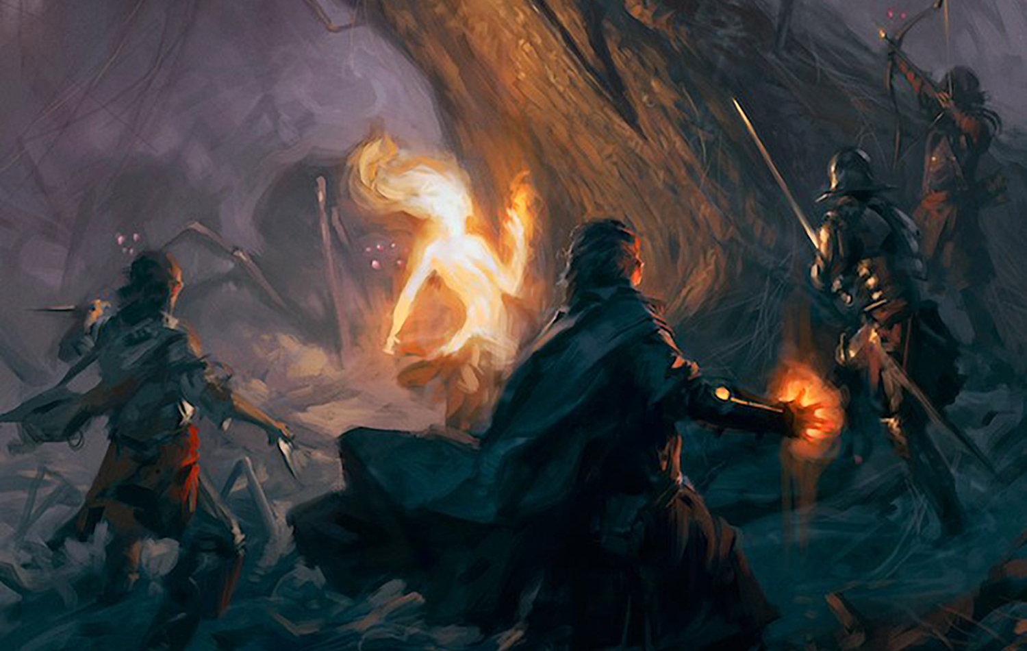 Five SFF Works Inspired by RPGs