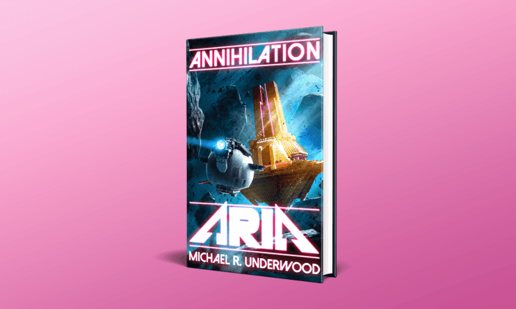 Blog Post Featured Image - Read the First Three Chapters of Michael R. Underwood's Annihilation Aria