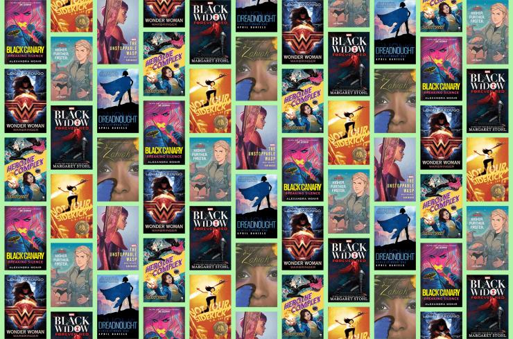 Blog Post Featured Image - 8 Amazing Novels About Female Superheroes