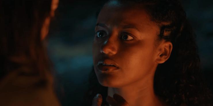 Cursed Netflix review Nimue Lady of the Lake Excalibur Arthur Morgan le Fey