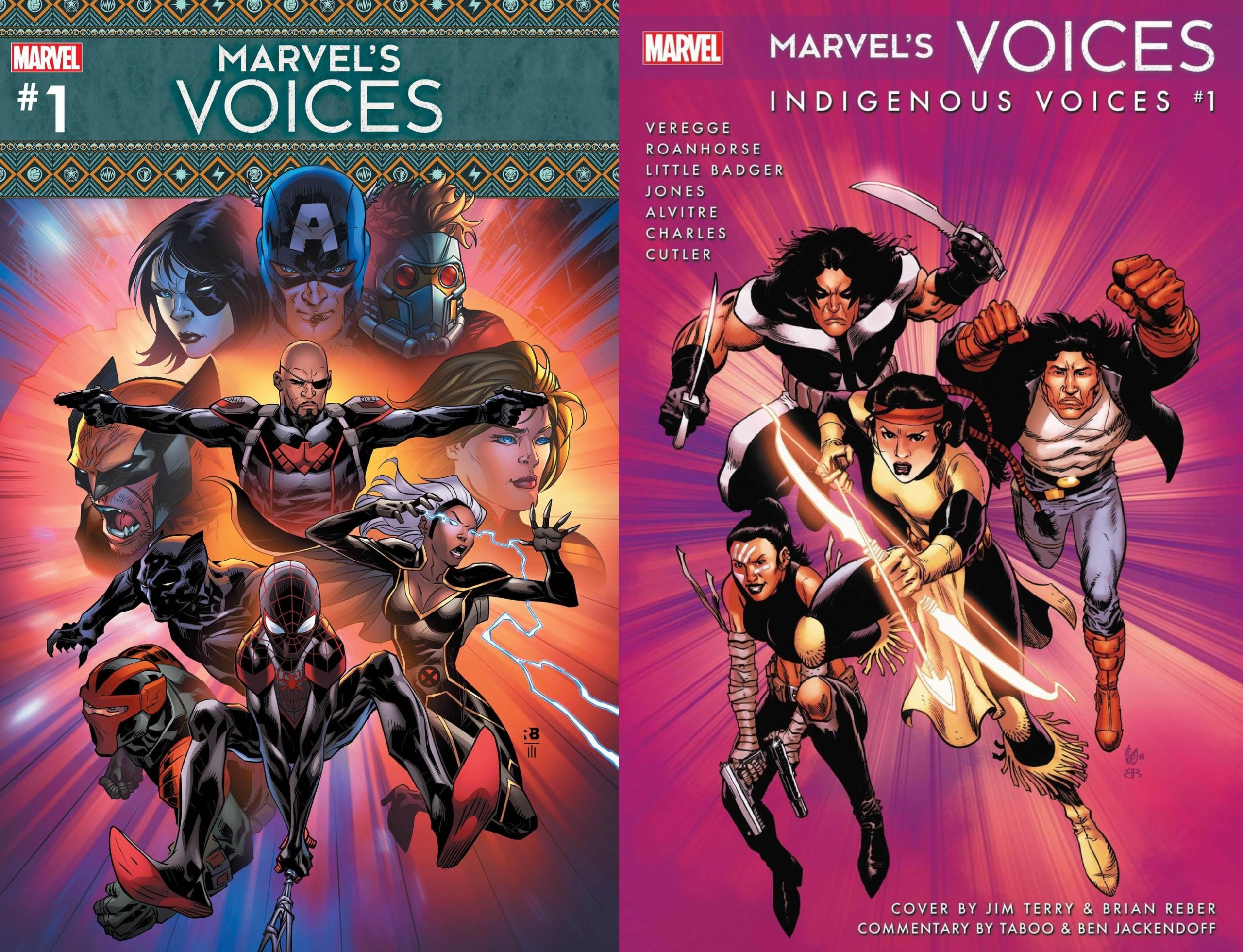 Empowering Indigenous Heroes and Creators With Marvel's Voices: Indigenous Voices #1