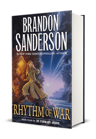 Behold The Cover To Rhythm Of War The Fourth Book In Brandon Sanderson S Stormlight Archive Tor Com