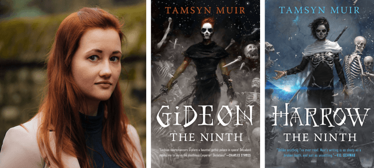 Blog Post Featured Image - Gideon, Harrow, and Mr Bones' Wild Ride: Tamsyn Muir on Writing, Necromancy, and Fanfic