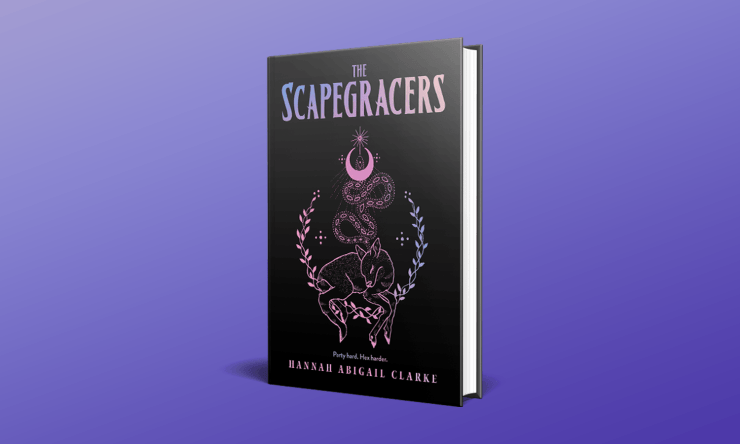 """Blog Post Featured Image - """"Oh, Relax It's Only Magic"""": The Scapegracers by Hannah Abigail Clarke"""