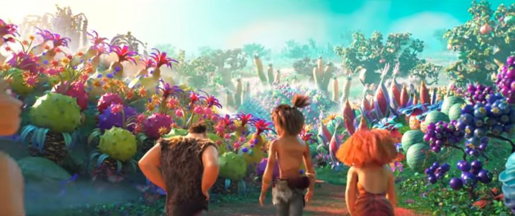 Blog Post Featured Image - The Croods 2: A New Age Trailer Ventures to a Vast and Vibrant World