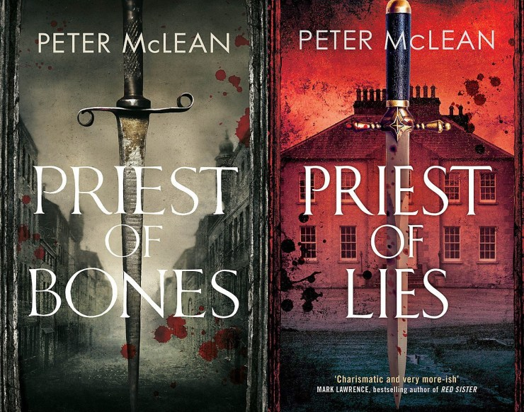 Blog Post Featured Image - Peter McLean's Priest of Bones Is Being Adapted for TV