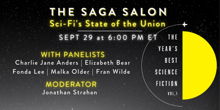 Blog Post Featured Image - Saga Press Will Celebrate The Year's Best Science Fiction With a Special Event