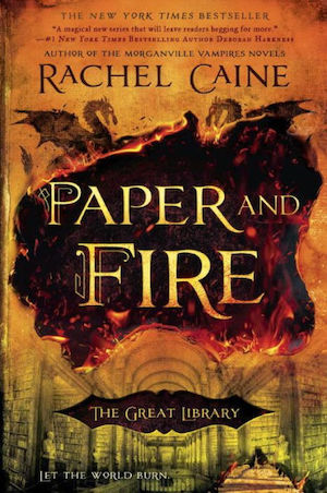 Blog Post Featured Image - Reading Paper and Fire: Book 2 of the Great Library by Rachel Caine