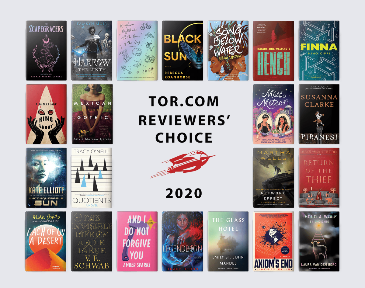 Tor.com Reviewers' Choice: The Best Books of 2020