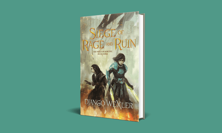 Blog Post Featured Image - High Stakes and Tough Choices in Siege of Rage and Ruin by Django Wexler