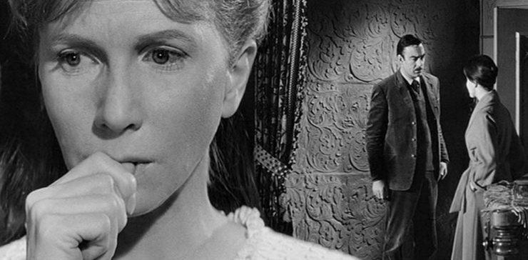 Eleanor (Julie Harris) in The Haunting (1963)