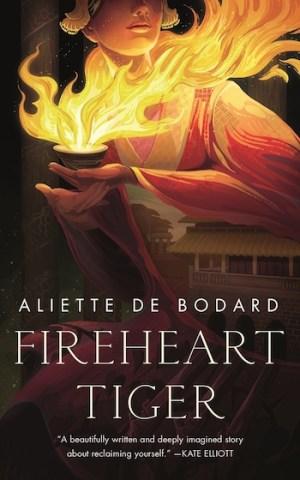 fantasy romance Fireheart Tiger Aliette de Bodard