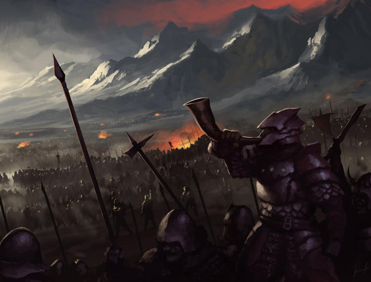Blog Post Featured Image - Tolkien's Orcs: The Din-horde of Morgoth
