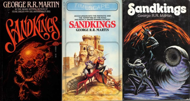 Covers for George R.R. Martin's Sandkings