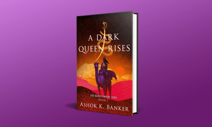 Blog Post Featured Image - Read an Excerpt From A Dark Queen Rises