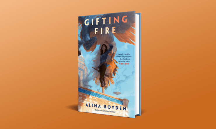 Blog Post Featured Image - Read an Excerpt From Alina Boyden's Gifting Fire