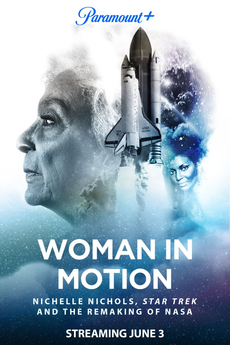 poster for Woman in Motion documentary