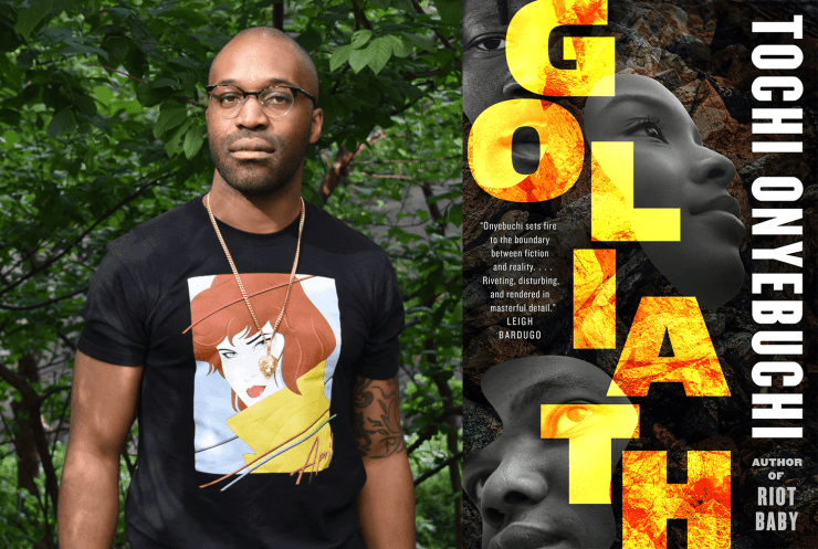 Blog Post Featured Image - Before the Fire Came Down: Revealing Tochi Onyebuchi's Goliath