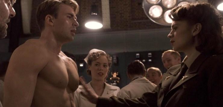 Cap, Peggy boob grab