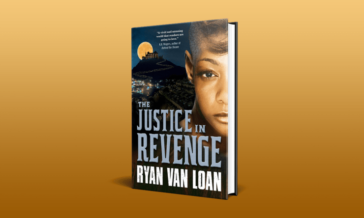 Blog Post Featured Image - Read an Excerpt From Ryan Van Loan's The Justice in Revenge