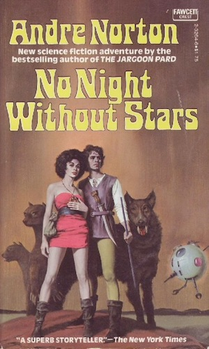 Blog Post Featured Image - Clawing Toward Hope: Andre Norton's No Night Without Stars