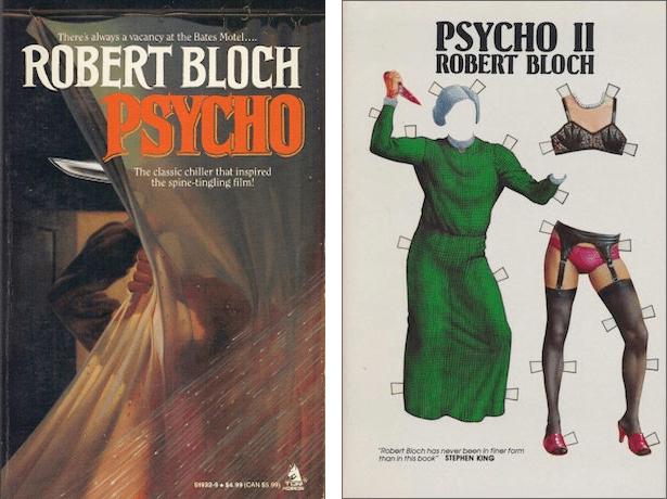 Psycho and Psycho II by Robert Bloch