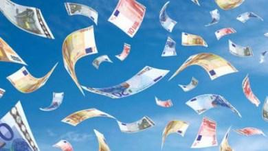 Photo de l'histoire de la semaine: l'argent vient du ciel
