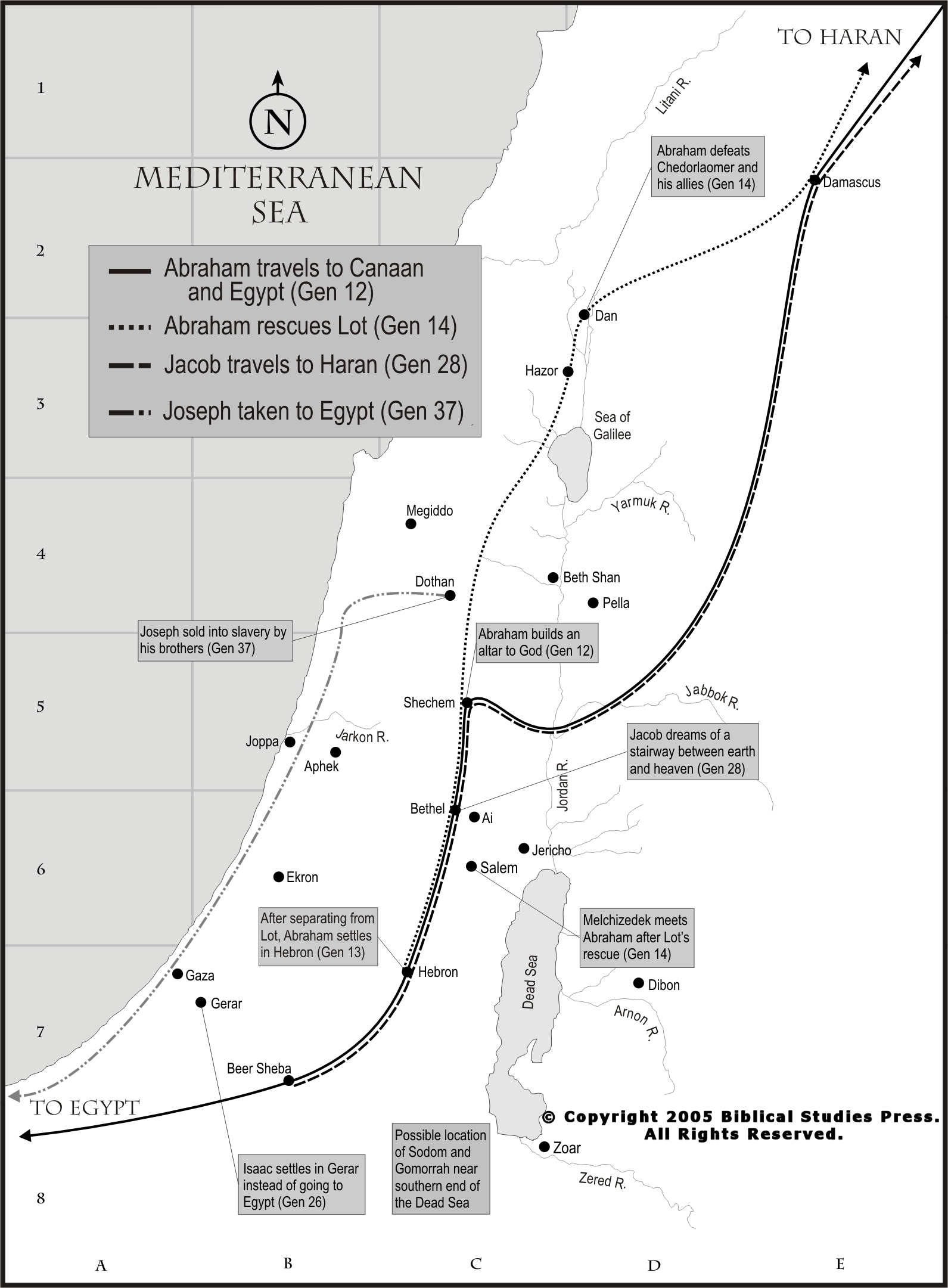 Today S Torah Portion Maps
