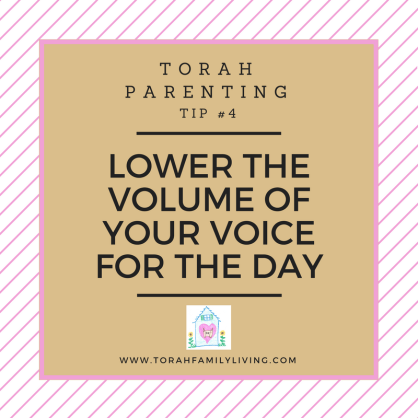 30 days of Torah parenting ~ Day 4