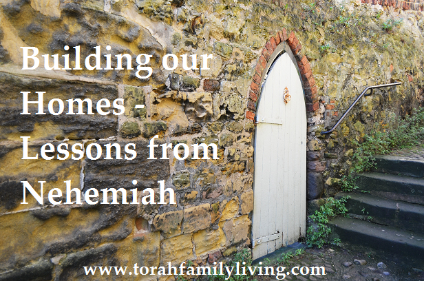 Building our Homes - Lessons from Nehemiah - chapter 1