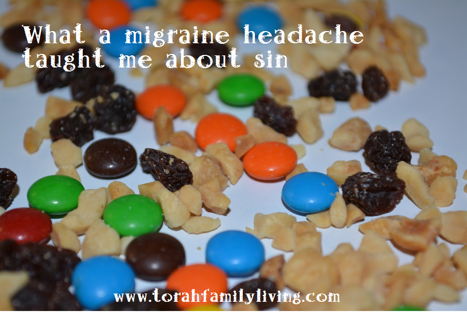 What a migraine headache taught me about sin