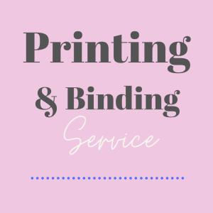printing binding