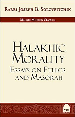 Halakhic Morality