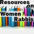 Resources on Women Rabbis