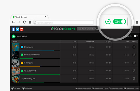 Torch Torrent Manager