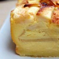 Gâteau tout simple avec plein de pommes...