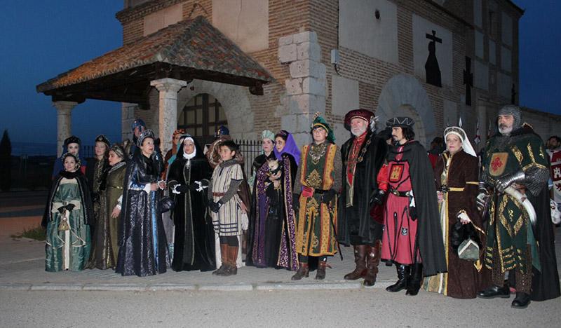 La reina Juana I llega este fin de semana a Tordesillas bajo la figura de Miriam Morais
