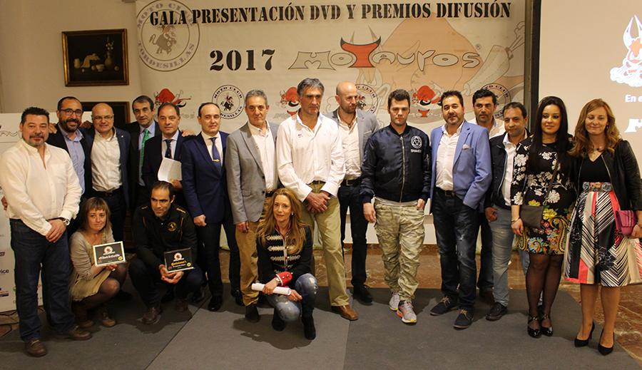 Fonsi Nieto protagoniza la entrega de los premios difusión Motauros 2017