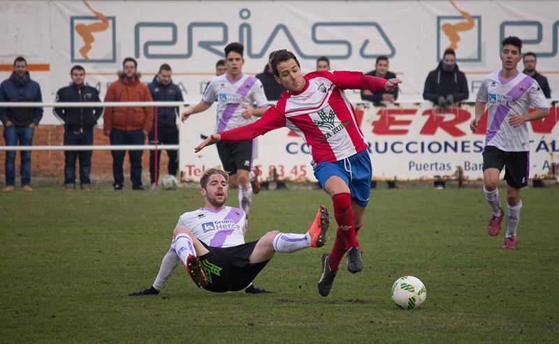 El Atlético Tordesillas se complica la permanencia