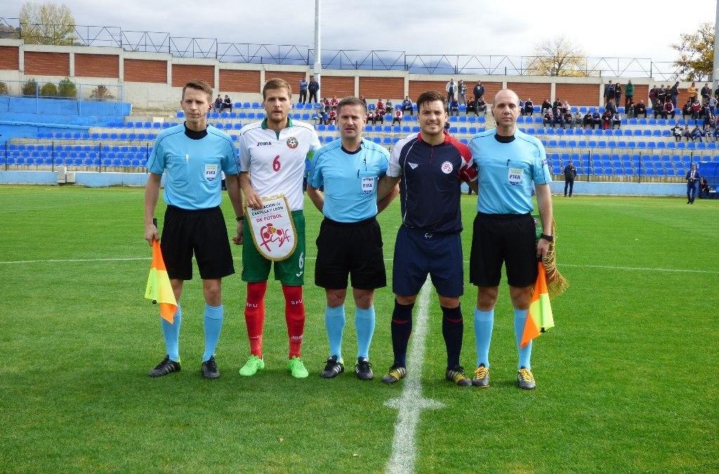 Mato capitaneará a la Selección UEFA de Castilla y León en Estambul