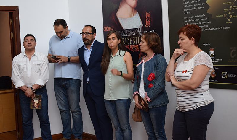 Tordesillas inaugura su exposición sobre Carlos V y la familia de los Austrias